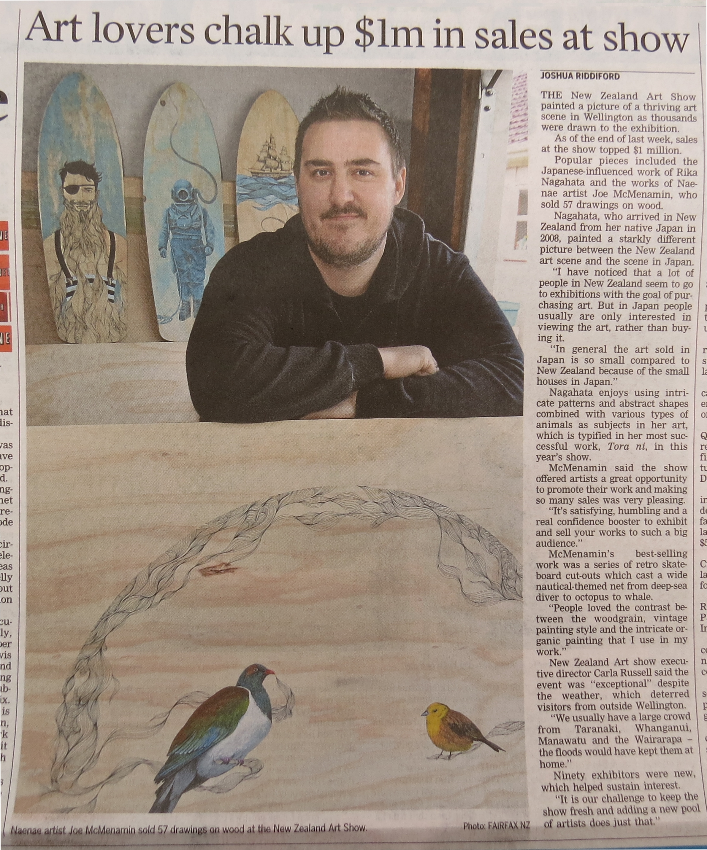 DomPost article June 2015